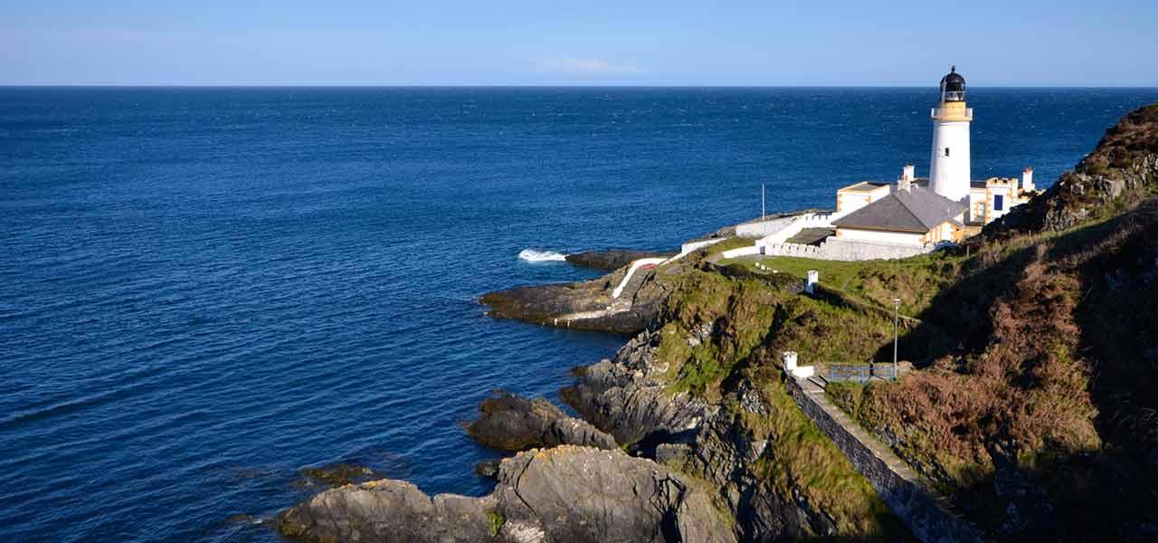 Isle of Man coastline location